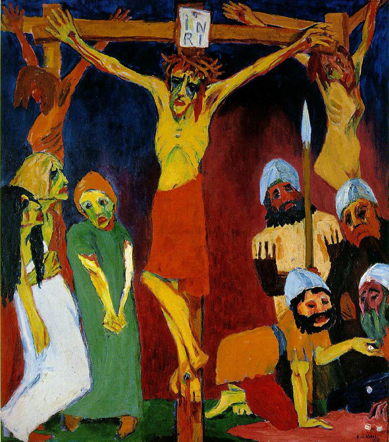 Genade in kunst - Willem de Vink Chagall Witte Kruisiging