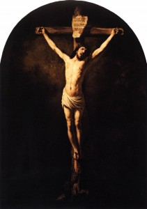 christ-crucified-rembrandt